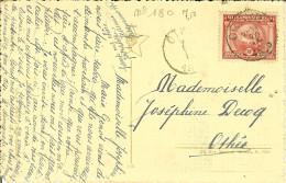 CP Avec N° 180 Oblitéré De OTHEE 1920.. - Storia Postale