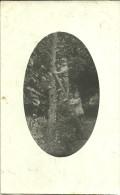CARTE PHOTO .1915  JEAN ET GERMAINE PETITS ENFANTS  DE  LAPORTE 70 BLD DE LA GARE  CHELLES - Persone Identificate