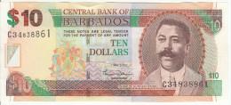 Barbados  10 Dollars 2007 Pick 68 UNC - Barbados