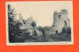 54 NOMENY : Les Ruines De L'ancien Château Des Comtes De Vaudemont - France