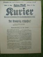 A2690) Oberschlesien Königshütte Extra-Blatt 12.11.1918 Kurier