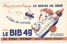 BUVARD - Alimentation - BIB 49 Pyrex - Un Peu Sale Et Mini Plis - Produits Laitiers