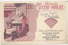 BUVARD - Alimentation - Buvard - Biscuit Geslot-Voreux A Ronchin-les-Lille - Petite Usure - Food