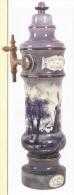 Superbe Ekta 13 X 18 Cm : Bière, Pompe De Débit En Porcelaine, Brasserie-malterie De Condé, Belgique, Début XXe Siècle - Autres Collections