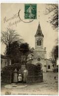 91MONTGERON-L´Eglise Et La Place Rottembourg-animée - Montgeron