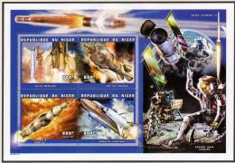 SPACE NIGER 1999 - APOLLO 11 S/Sheet KLEINBOGEN MNH - Space