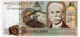 BRAZIL 10 CRUZADOS ND(1986) Pick 209b Unc - Brasilien