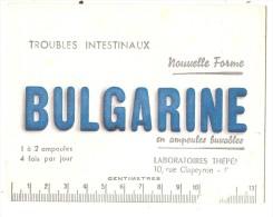 Buvard Pharmaciotique - BUVARD / BLOTTER / LABORATOIRE THEPENIER MEDICAMENT BULGARINE - Chemist's