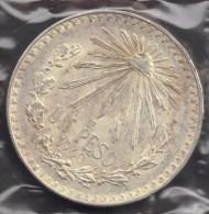 MEXICO 1 PESO 1940 ARGENT SILVER - Mexico