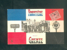 Avricourt - Frontiere Franco Allemande - Grenze ( Animée Douane Douanier ) - France
