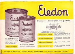 Buvard - BUVARD / BLOTTER /  Babeurre Demi Gras En Poudre ELEDON  NESTLE - Dulces & Biscochos