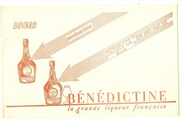 Vins Et Alcool - BUVARD / BLOTTER /  Benedictine - Liquor & Beer