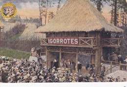 Philippine IGORROTES Display , AYPE , Seattle , Washington , 1909 - Filippine