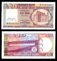 Bangladesh 10 Taka 1997 Pick 33 UNC - Bangladesh