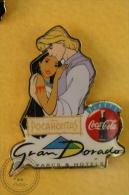 Walt Disney Pocahontas - Grand Dorado - Coca Cola Pin Badge  - #PLS - Disney