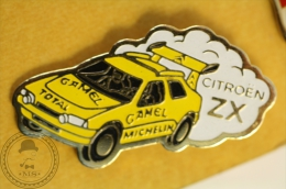 Camel Trophy Michelin - Citroën ZX Rally Car - Pin Badge  - #PLS - Citroën