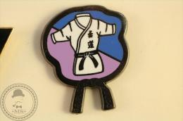 E.S. SUCY Judo -  Pin Badge - #PLS - Judo