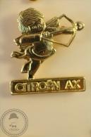 Golden Colour Cupid - Citroën AX - Advertising Pin Badge - #PLS - Citroën