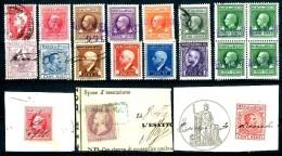 MARCA DA BOLLO - Effige Di Vittorio Emanuele III E Altro - Lotto Come Da Scansione - 1900-44 Vittorio Emanuele III