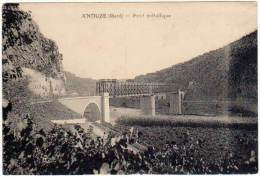 Anduze - Pont Métallique - Anduze