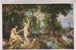 CPM RUBENS, ADAM ET EVE AU PARADIS - Peintures & Tableaux
