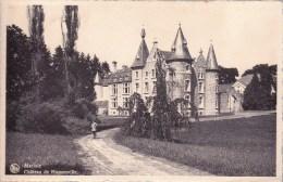 Marloie    Château De Hassonville  1945  Naar St. Gillis - Bruxelles - Marche-en-Famenne
