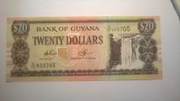 BANK OF GUYANA - 20 DOLLARS - Guyana