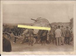 Champagne 1915/1916 Tourelle Blindée Avec Canon De 57mm  WWI Ww1 14-18 1.wk 1914-1918 Poilus - Guerre, Militaire