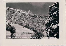 Chalet Dez Naz Et Les Aiguilles De Baulmes (5881) - VD Vaud