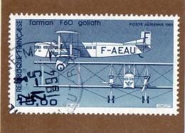 FRANCE  --  BIMOTEUR  FARMAN  F 60   GOLIATH  --   **  15,00 F. **  --  PA 57 B  --  POSTE  1985  --  TBEG - 1960-.... Used