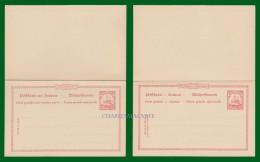GERMANY 1900 MARIANA MARIANEN  PREPAID / ENTIER C.P.  MICHEL P 10 UNUSED - Colony: Mariana Islands