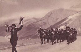 Militaria - Régiment Chasseurs Alpins - Musique Militaire - Editeur Georges Lang Paris - Manoeuvres
