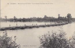 Militaria - Construction De Ponts - Génie Angers - Manoeuvres