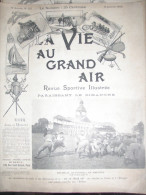 FOOT AMERICAIN/ GUSTAVE CAILLOIS AUTO/ YACHT JEANNE BLANCHE/CROQUET AMOITTE /RUGBY LYON  /VIE GRAND AIR - Other