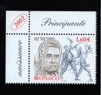 MONACO 2003-un Timbre (1) N° 2401** Centenaire De La Naissance Du Compositeur Aram Khatchaturian 1.60€€ CDF - Ohne Zuordnung