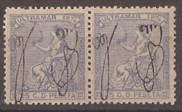PR4-LA576TANR.Spain,Espagne .PUERTO RICO ESPAÑOL . ALEGORIAS  1874 (Ed 4** Par) Sin Charnela MAGNIFICO - Nuevos