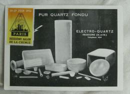 NEMOURS (77) Carte De Visite Publicitaire Electro Quartz - Visiting Cards