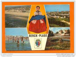 ..... CARTE POSTALE POSTAL POSTCARD FRANCE BERCK PLAGE & TOYS TOY DOLLS DOLL 1970s - Berck