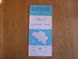 CARTE TOPOGRAPHIQUE Belgique 58 / 5 - 6 IGN Régionalisme Olloy / Viroin Treignes Dourbes Oignies Viroinval Le Mesnil - Mapas/Atlas