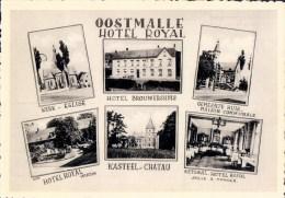 Oostmalle Hotel Royal Antwerpse Baan ( Hotel Brouwershuis Gemeentehuis Kerk Kasteel ) - Malle