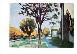 84 - AVIGNON - PALAIS DES PAPES - Exposition Alfred LESBROS - Remparts à L'arbre Noir -  Photo Daspet - Avignon