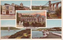 PC Bangor - Multi-view Card (3611) - Caernarvonshire