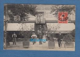 CPA Photo - CHAMPIGNY Sur MARNE - Hôtel Café Billard - 1906 - SUPERBE - Champigny Sur Marne