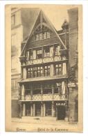 Cp, Commerce, Rouen (76) - Hôtel De La Couronne - Restaurants