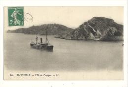 Cp, 13, Marseille, L'Ile De Pomègue, Voyagée 1913 - Marseilles