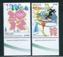 Greece / Grece / Griechenland / Grecia Olympic Games - London 2012 Set MNH - Unused Stamps