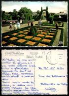 PORTUGAL COR 29332 - CASTANHEIRA DE PERA - CASA CRIANÇA - RAINHA DONA LEONOR -Jardim De Buxo Ode Pedras Coloridas - Leiria