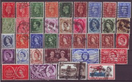 GROSSBRITANNIEN - Lot - Gestempelt - Briefmarken