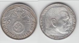 **** ALLEMAGNE - GERMANY - 2 REICHSMARK 1937 A - THIRD REICH - ARGENT - SILVER **** EN ACHAT IMMEDIAT - 2 Reichsmark