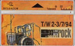 BELGIUM - On Line With Rock 2, CN : 405C, Used - Belgium